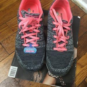 Skechers air cooled memory foam sneakers